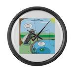 Fly Fishing Large Wall Clock