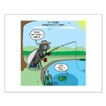 Fly Fishing Small Poster