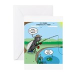 Fly Fishing Greeting Cards (Pk of 10)