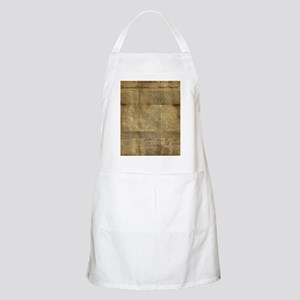 The Declaration of Independence Light Apron