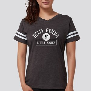 Delta Gamma Little Athletic Womens Football Shirt