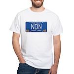 Michigan NDN Pride White T-Shirt