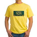 Michigan NDN Pride Yellow T-Shirt