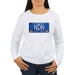 Michigan NDN Pride Women's Long Sleeve T-Shirt