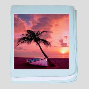 Beach Sunset4799SQ baby blanket