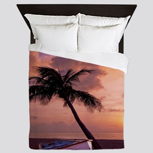 Beach Sunset4799SQ Queen Duvet