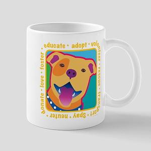 Bright Pittie Mug