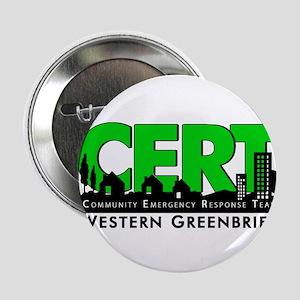 """CERT Logo 2.25"""" Button"""