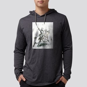 Custer's last charge - 1876 Mens Hooded Shirt