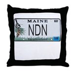 Maine NDN Pride Throw Pillow
