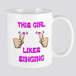 This Girl Likes Singing Mug