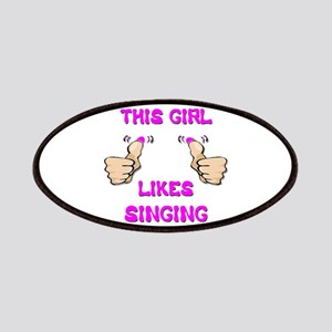 This Girl Likes Singing Patches