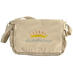 Elizabeth's Hope Zippered Canvas Messenger Bag