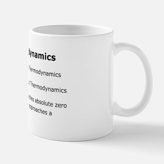 3 laws of Thermodynamics Mug