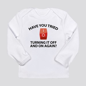 Have You Tried Turning It Off And On Again? Long S