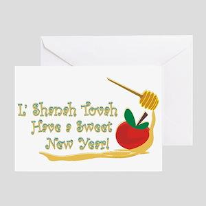 L Shanah Tovah Greeting Card