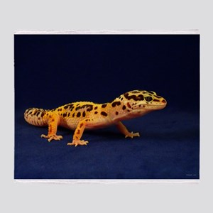 Leopard Gecko 2 Throw Blanket