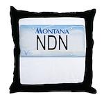 Montana NDN Pride Throw Pillow