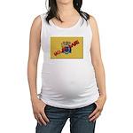 New Jersey Molon Labe Maternity Tank Top