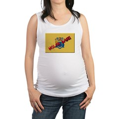 New Jersey Molon Labe Maternity Tank Top