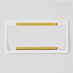 New Jersey Molon Labe License Plate Holder