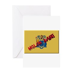 New Jersey Molon Labe Greeting Card