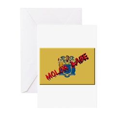 New Jersey Molon Labe Greeting Cards (Pk of 10)
