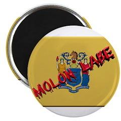 New Jersey Molon Labe Magnet