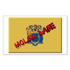 New Jersey Molon Labe Decal