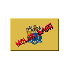 New Jersey Molon Labe Wall Decal