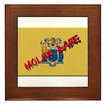 New Jersey Molon Labe Framed Tile