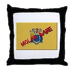 New Jersey Molon Labe Throw Pillow