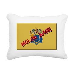 New Jersey Molon Labe Rectangular Canvas Pillow
