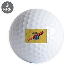 New Jersey Molon Labe Golf Ball