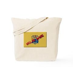 New Jersey Molon Labe Tote Bag