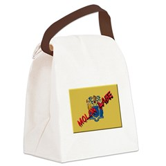 New Jersey Molon Labe Canvas Lunch Bag