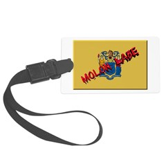 New Jersey Molon Labe Luggage Tag