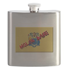 New Jersey Molon Labe Flask