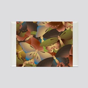 Decorative - Decoration - Butterfly Rectangle Magn