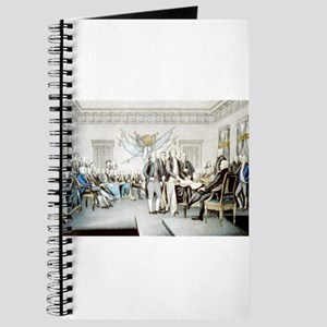 Declaration of Independence - 1856 Journal