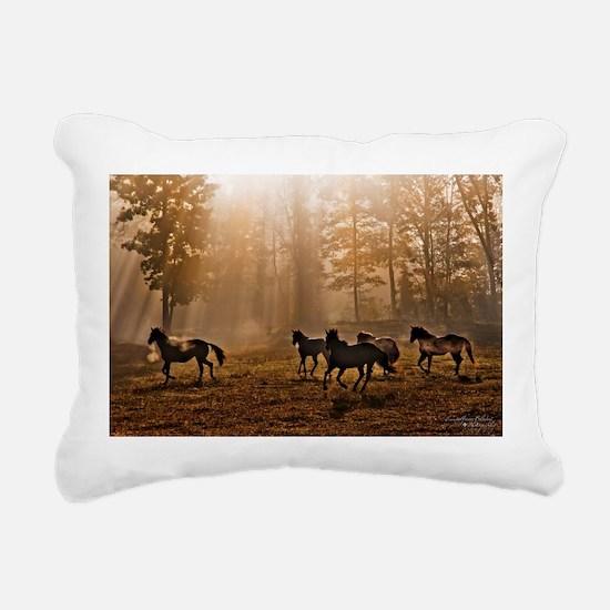 Heavenly Light Rectangular Canvas Pillow