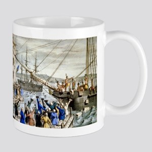 Destruction of tea at Boston Harbor - 1846 11 oz C