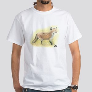 Fox & Kitten White T-Shirt
