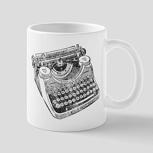 Vintage Underwood Typewriter Mug