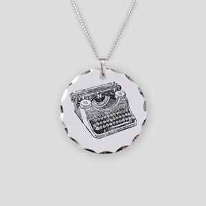 Vintage Underwood Typewriter Necklace