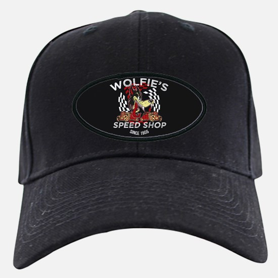 Wolfies Speed Shop Black Baseball Hat