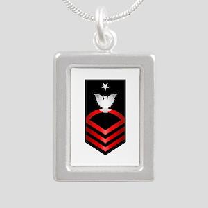 Navy Senior Chief Petty Officer Silver Portrait Ne