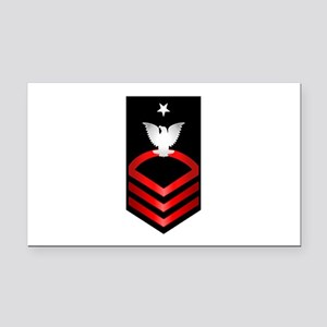 Navy Senior Chief Petty Officer Rectangle Car Magn