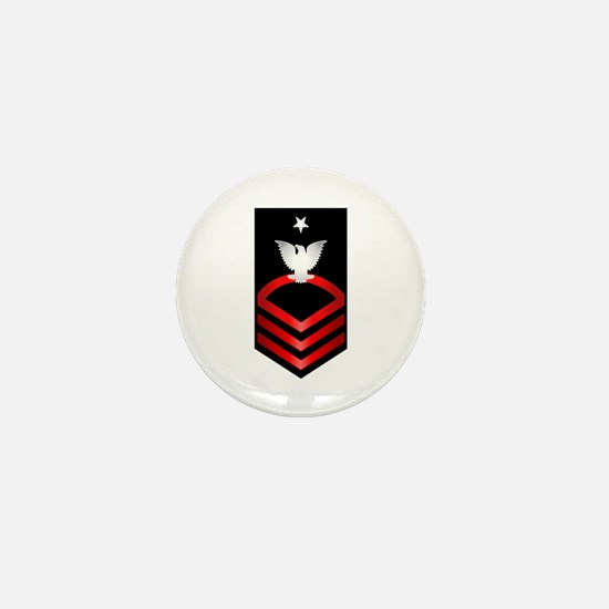 Navy Senior Chief Petty Officer Mini Button