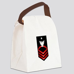 Navy Senior Chief Petty Officer Canvas Lunch Bag